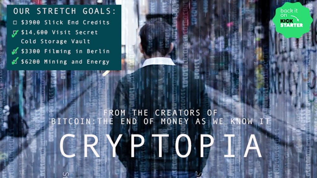 #CRYPTOPIA: Bitcoin, Blockchains& the Future of the Internet project video thumbnail