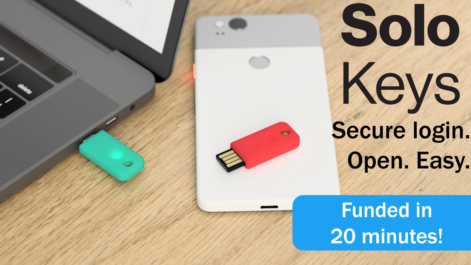 Solo: the first open source FIDO2 security key  USB & NFC