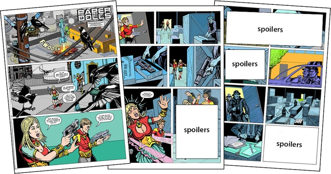 Paper Dolls - issue 7