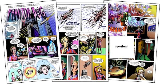 The Phantom Bug - issue 6