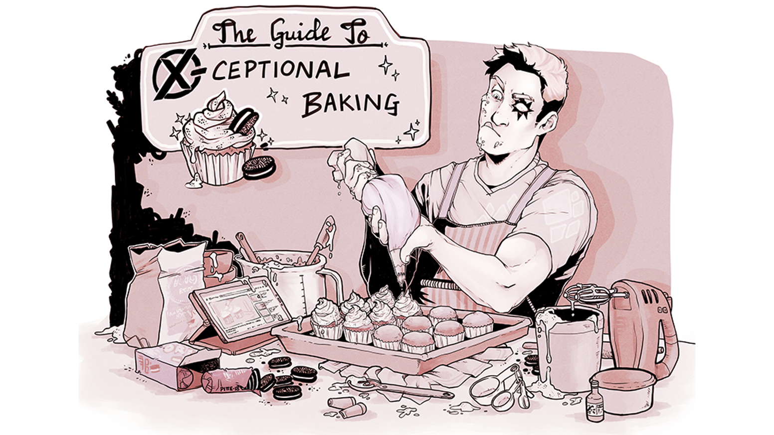 A nerdy cookbook for all your baking and X-Men needs. For comics fans, by comics fans!
