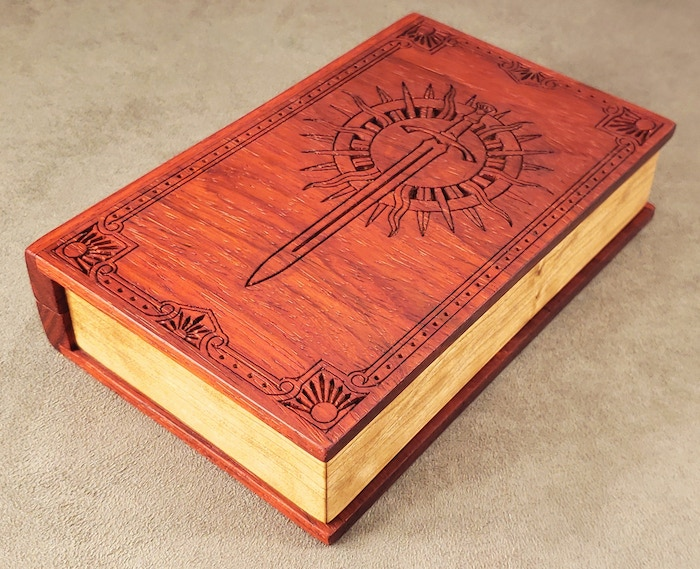 Padauk with Cherry pages