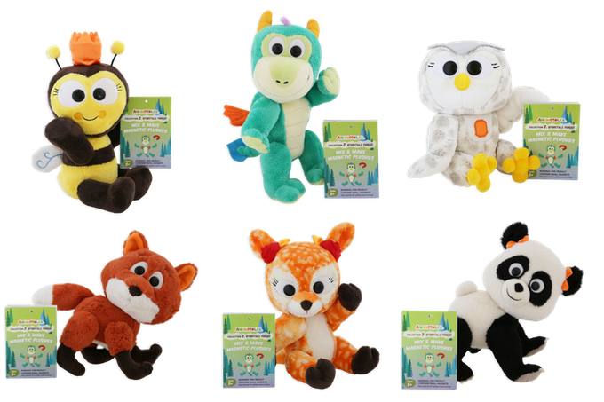 Collection 2 Animoodles each come with a collectors booklet!