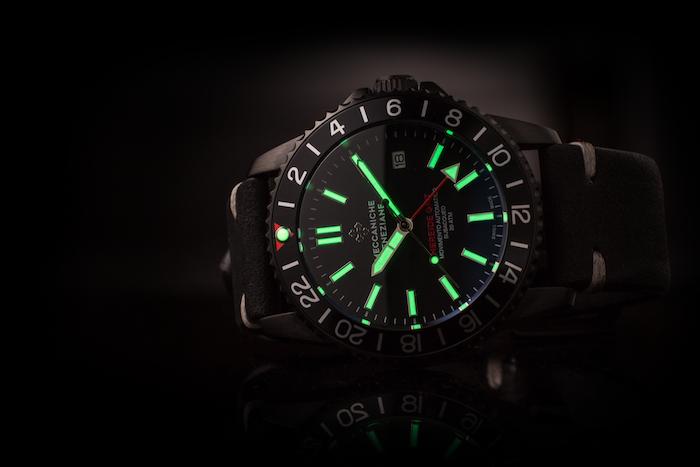 Nereide GMT Dive Watch With ETA 2893-2 Swiss Movement by