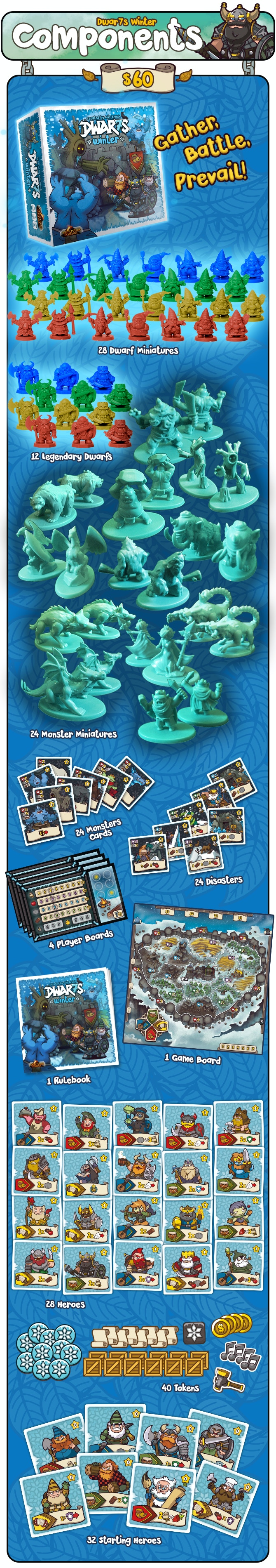This is the FULL Kickstarter Edition of the game as seen in the Dwar7s Winter Kickstarter Campaign.