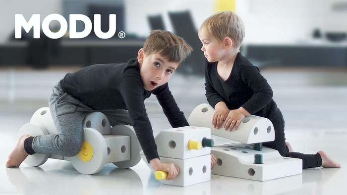 World's first age-adapting building toy that encourages active play and imagination for kids