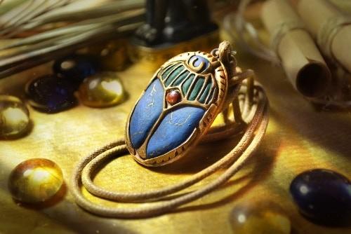 Exclusive Scarab pendant