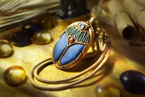 Exclusive Scarab pendant