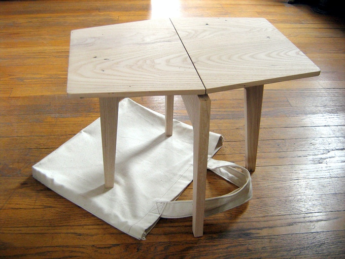 Tablestool - Prototype 2, 2009