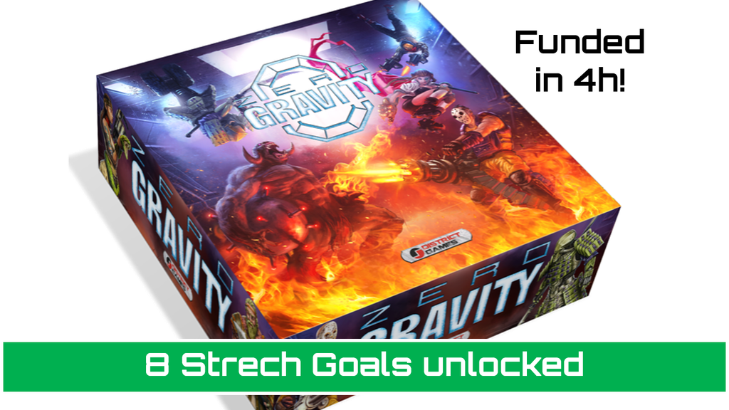 Zero Gravity - The First 3D Magnetic Miniatures Game project video thumbnail