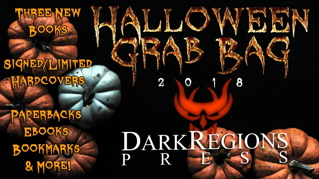 Halloween Grab Bag Three New Books from Dark Regions Press! project video thumbnail