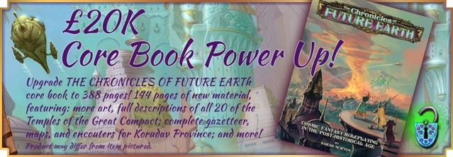 The Chronicles of Future Earth Roleplaying Game by Sarah