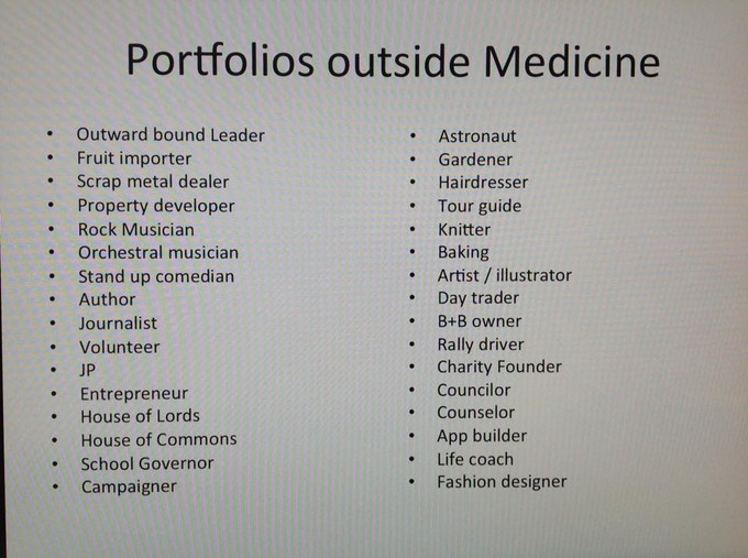 Courtesy of Melanie Jones - Ex-Anaesthetist & Career Coach #FOAMeD