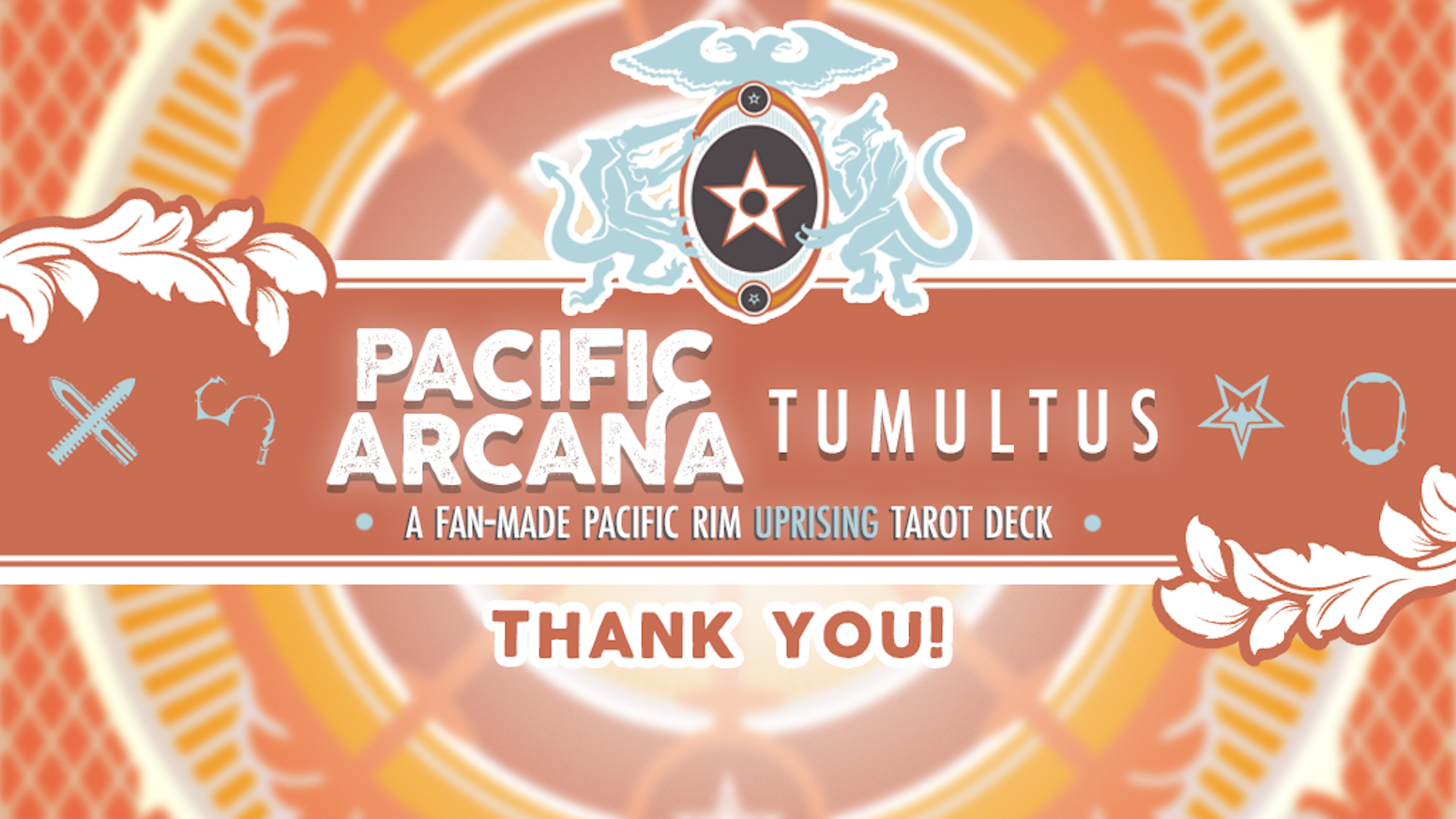 A tarot deck, handbook, and more built off the expanded world of Pacific Rim with 70+ incredible fan artists: the second chapter.