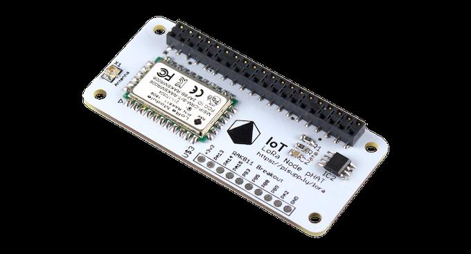 IoT LoRa Node pHAT for Raspberry Pi