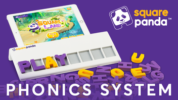 Square Panda Phonics System 2.0 for Kids Learning to Read