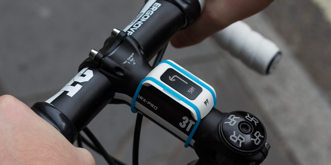 PyGo with Bike Clip and Navigation