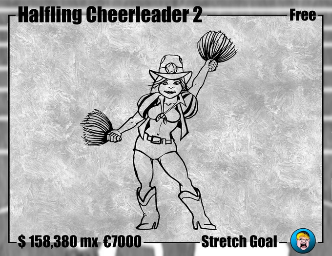 Cheerleader Halfling 2