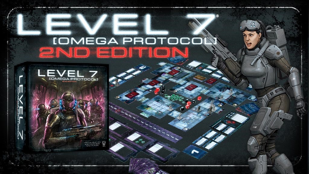 LEVEL 7 [OMEGA PROTOCOL] Board Game (2nd Edition) project video thumbnail