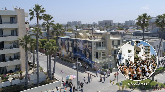 The Venice Beach Boardwalk is the 2nd most visited place in Southern CA, behind Disneyland.