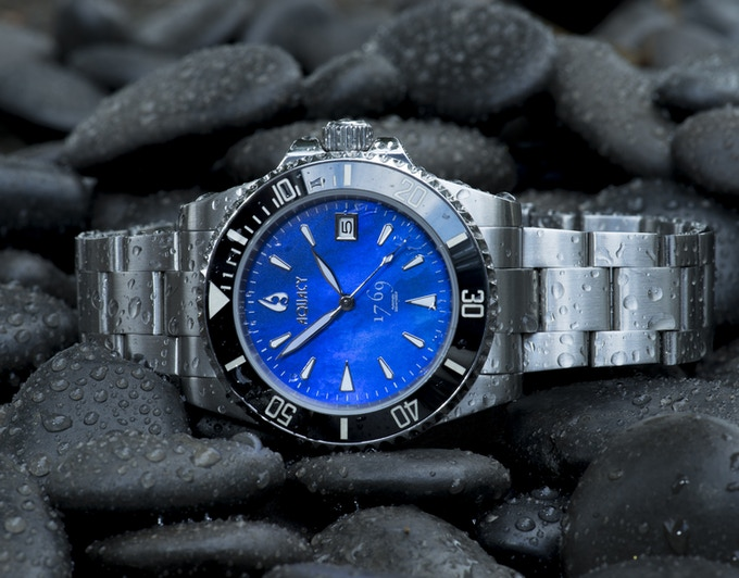 Blue Mother of Pearl Dial