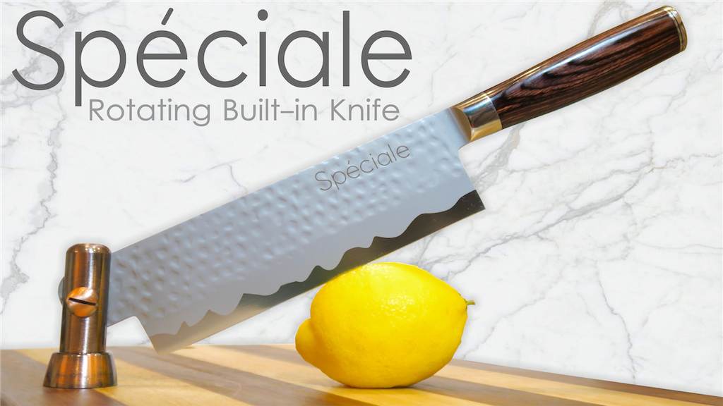 Speciale | Rotating Built-In Knife