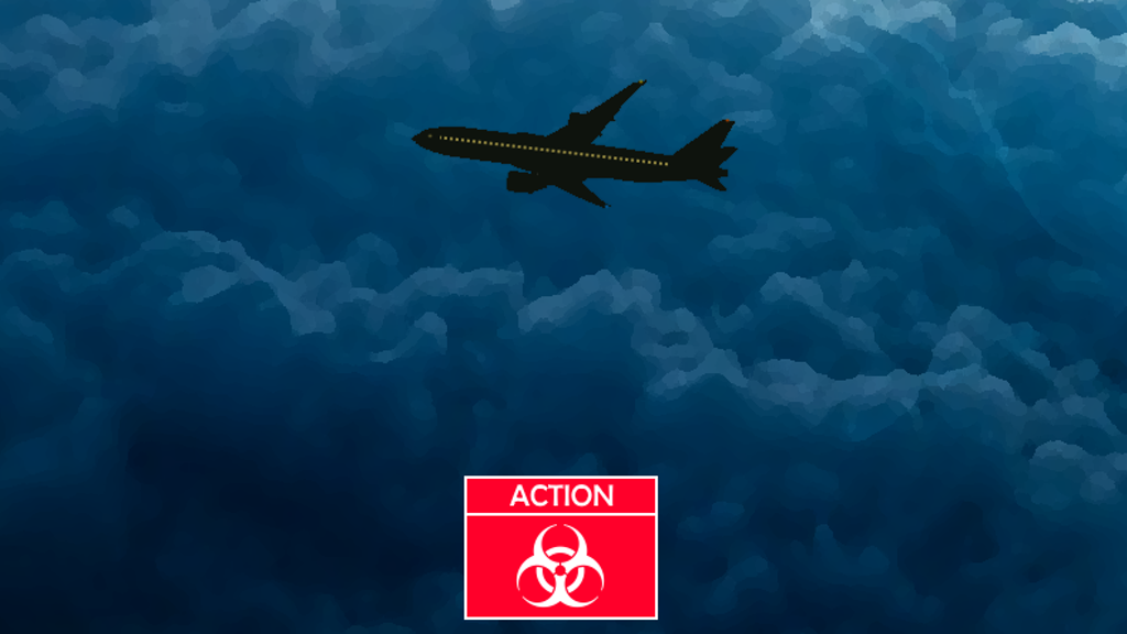 Project image for Terror at 30,000 feet - A gamebook where YOU are the hero