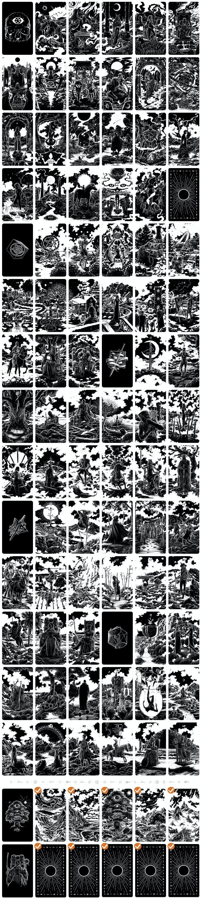 Shadow Light Tarot Deck by Waking Canvas — Kickstarter