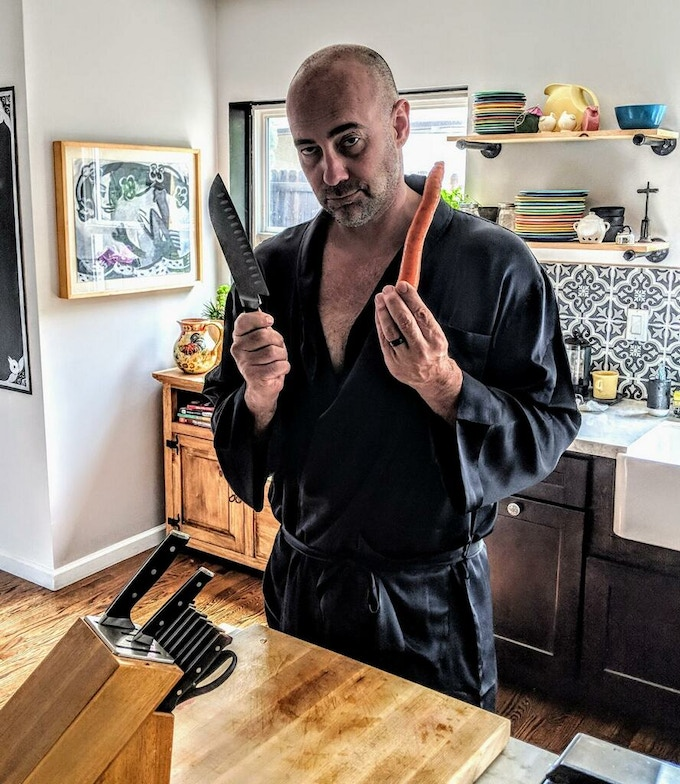 Alex Cutting A Carrot... Just For YOU! (Alex will ACT, and we mean ACT with the CARROT!!!)