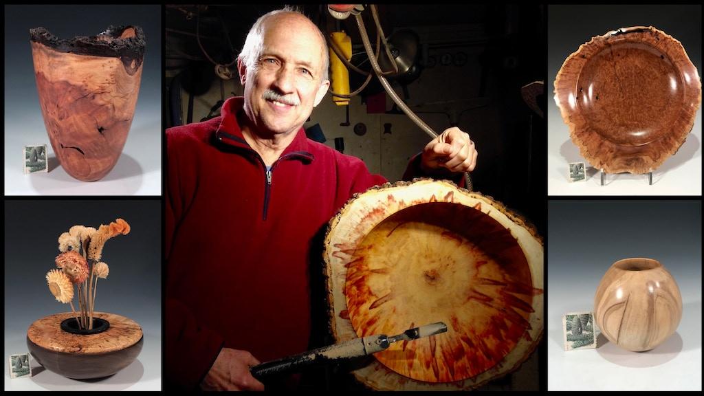 David Walsh, Bowlmaker, Fine Wooden Bowls: October 2018