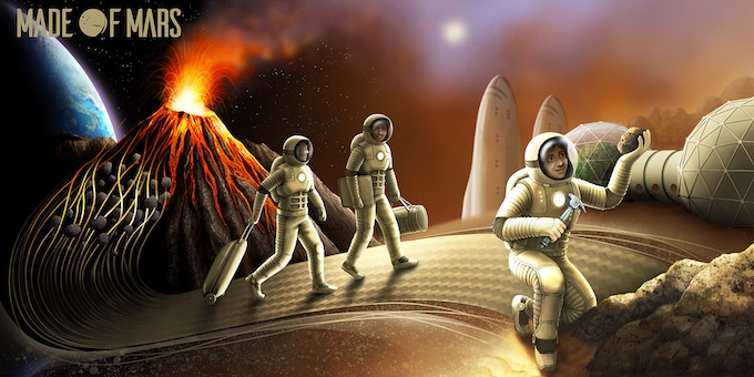 The Made of Mars Journey