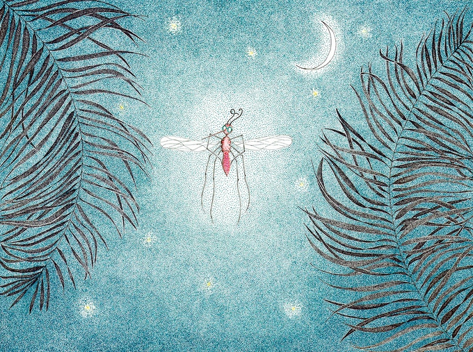 14th Billion Mosquito of Great Compassion by Catherine Owens
