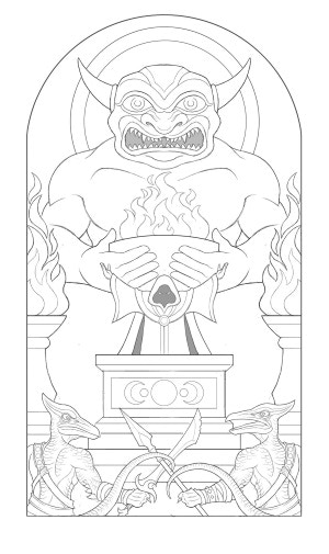 A rough version of the Front (Full cover soon)