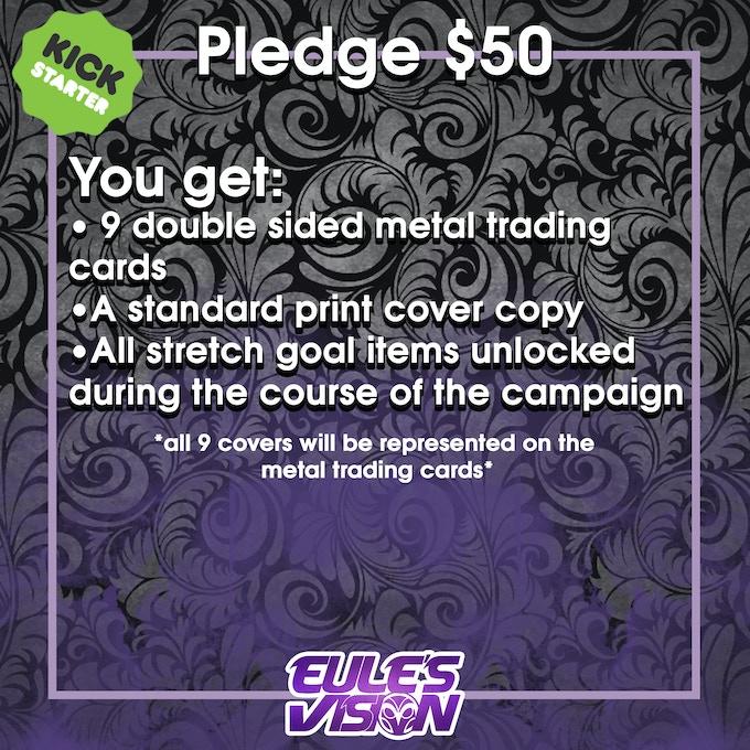 $50 Pledge Information