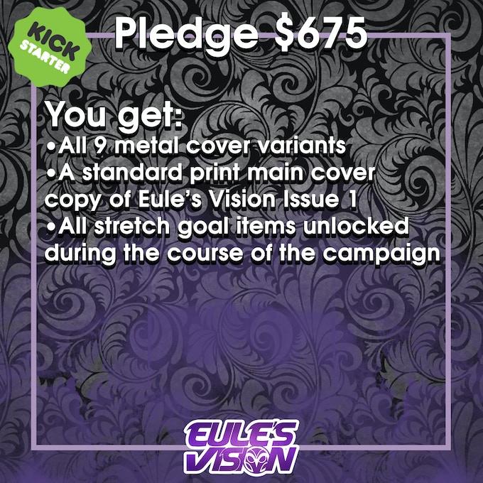$675 Pledge Information