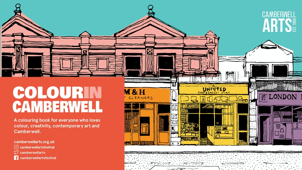 Colour in Camberwell - 25th Anniversary Colouring Book project video thumbnail