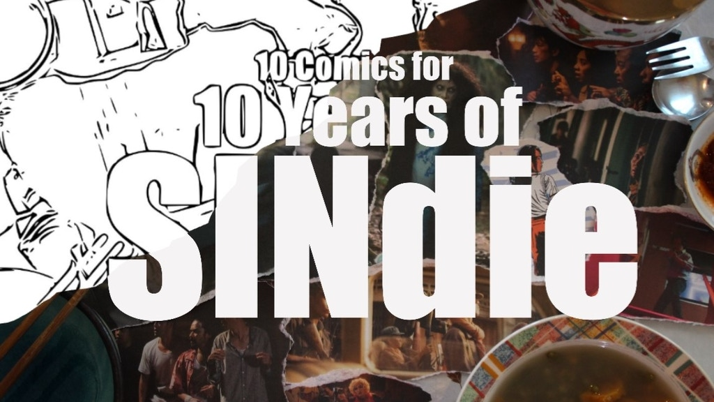 10 Comics for 10 Years of SINdie project video thumbnail