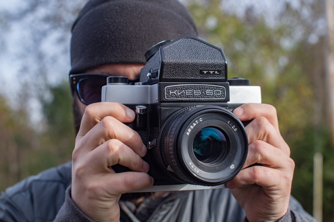 One of the cameras being used in the project