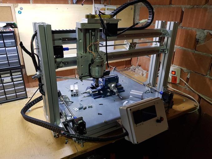 Upgrading VISCHIO CNC