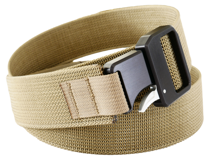 Coyote Brown Strap - Silver Latch