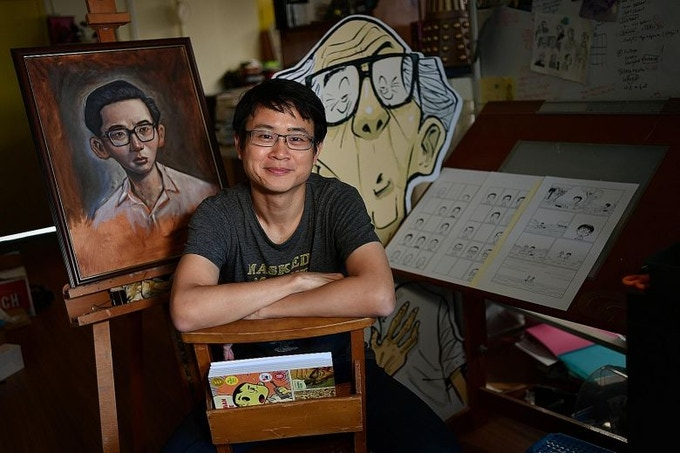Sonny Liew (photo courtesy of The Straits Times)