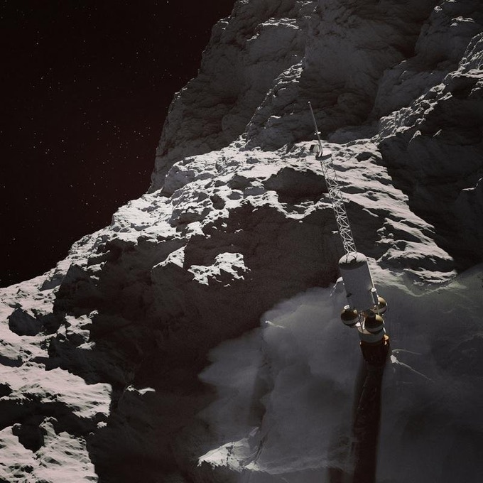 A future basalt mine on an asteroid