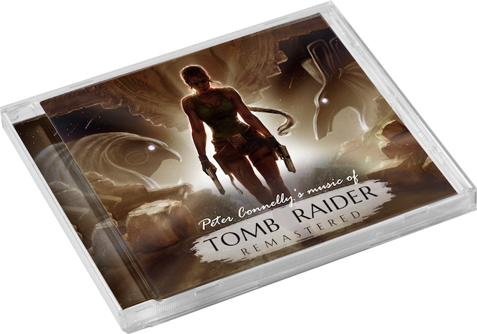 Music of Tomb Raider Remastered CD (not final cover art)