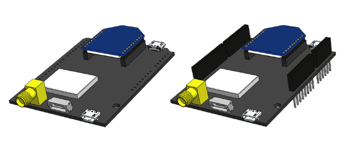 simpleRTK2B: the first multiband RTK shield based on ZED-F9P by