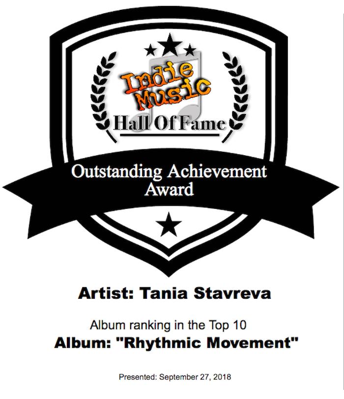 RHYTHMIC MOVEMENT: Tania Stavreva Debut Piano Album by Tania
