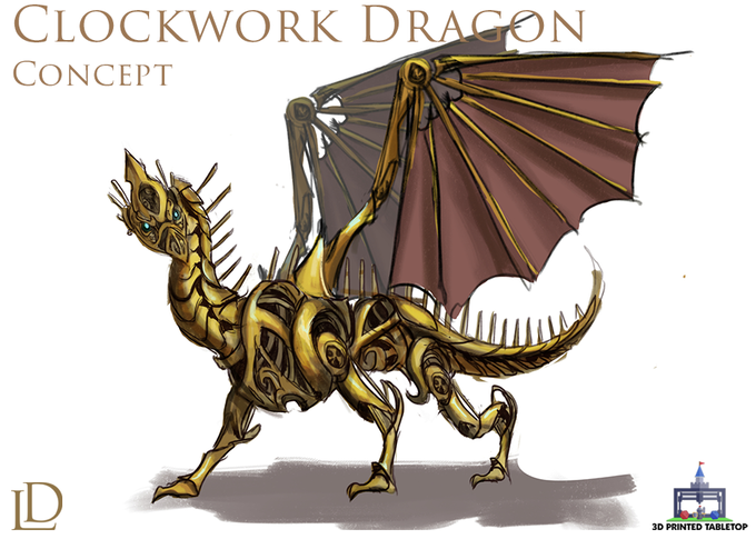 Clockwork Dragon Concept