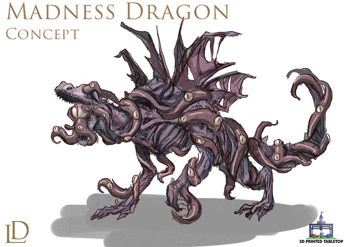Madness Dragon Concept