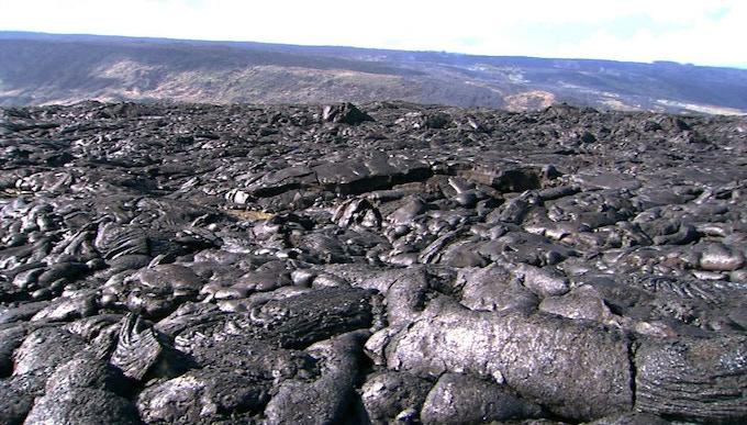 Hawaiian Lava Field