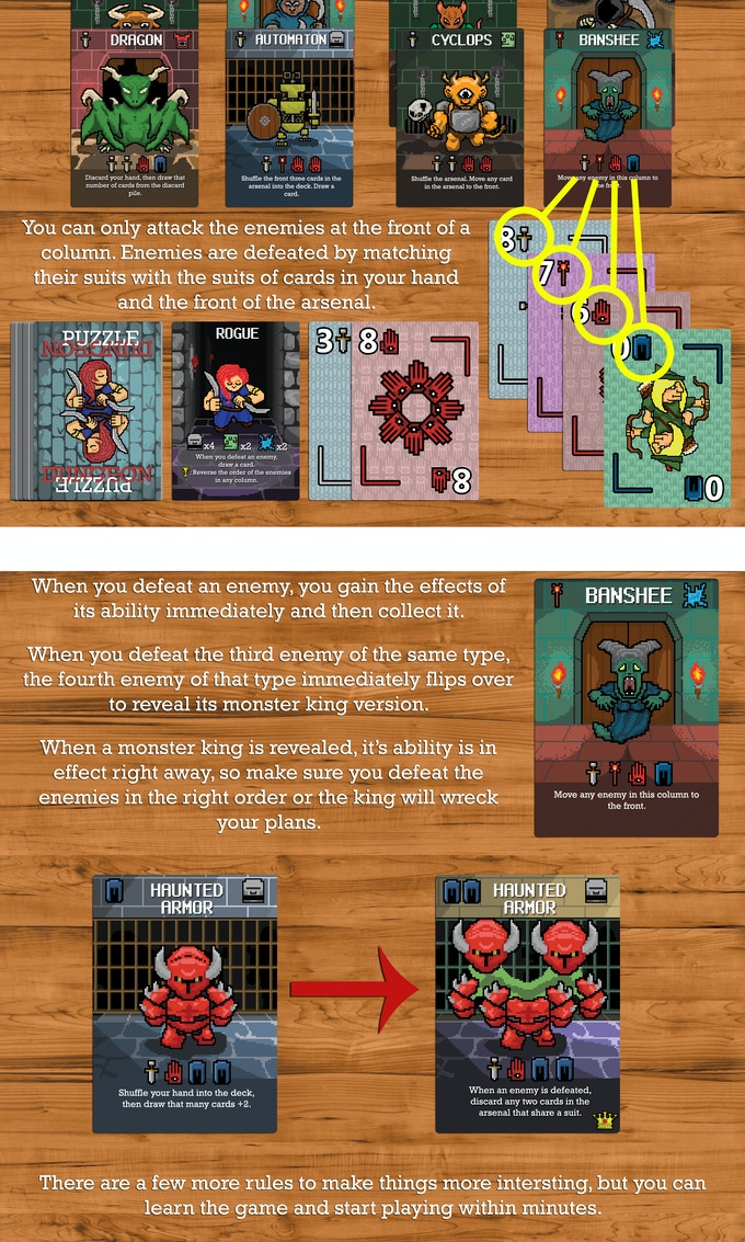 Puzzle Dungeon - A Solitaire Dungeon Crawling Game by ...
