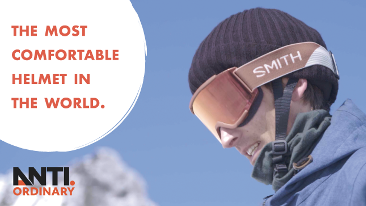 It's a beanie that is as safe as a helmet. The Anti Ordinary A1 is the most comfortable helmet you'll wear to date.